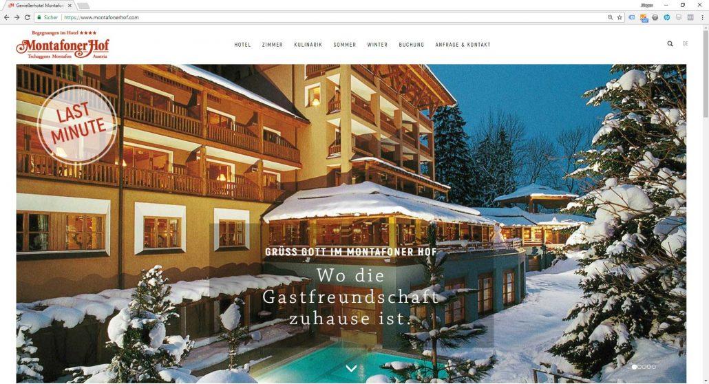 Genießerhotel Montafoner Hof